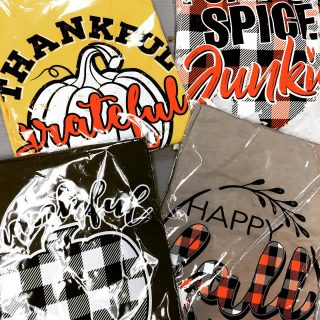 Come check out the Fall T-shirts before they are all gone! #maryannswholesale #seasonalwear Not open to the public