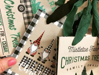 We have Christmas bag selections! And the cutest truck/tree tissue as well as white, green and red solids! #maryannswholesale #seasonaldecor #seasonalwrapping #seasonalgiftbags #christmasgiftbags Not open to the public