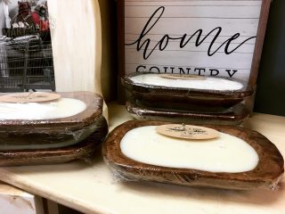 We have some amazing candles by Ellie Jane's Farmhouse! Smell sssooo good! Come see us Monday from 9:00-5:00 and check them out! #maryannswholesale #poured candles #soycandles #pumpkinsouffle #cinnabun #harvest #vanillacoffee